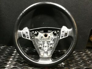 2003 2007 Saab 9 3 Aero Convertible Steering Wheel With Switches Oem