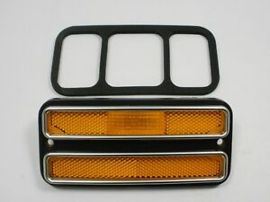 Front Side Marker Light 1971 1984 Chevy Van Driver Or Passenger Side With Gasket