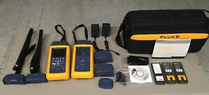 Fluke Networks Dsp 4300 Cable Tester With Accessories Class E Cat 6