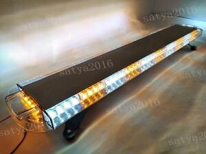 47 88 Led Strobe Light Bar Amber White Emergency Beacon Hazard Warning Flash