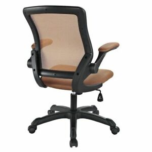 Modway Veer Mesh Office Chair In Tan New