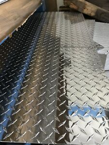 Aluminum Diamond Tread Plate 063 4ftx7ft Blowout Sale