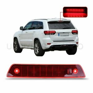 Single Row Led Rear Third 3rd Brake Light Fit Jeep Grand Cherokee 2005 2010 Red