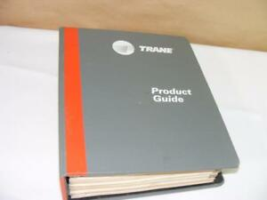1985 Trane Hvac Air Conditioning Product Guide Catalog Binder Book