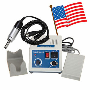 Usa Dental Lab Marathon Micromotor Polisher Polishing W Electric Motor 35k Rpm