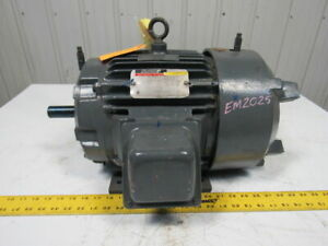 Reliance 1yab94371a2 5hp Duty Master Ac Electric Motor 460v 3ph 215frame 1705rpm