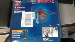 Bosch Professional Gll 2 20 360 Degree Self Leveling Line Cross Laser