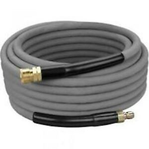 Non Marking Pressure Washer Hose 3 8 X 50 4000psi With Quick Connects