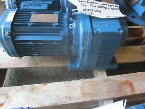 Sew Eurodrive Gear Reducer And Motor 60hz 1 Hp 87137h New