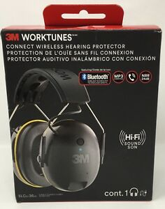 3m Worktunes Connect Hearing Protector With Bluetooth Free Shipping