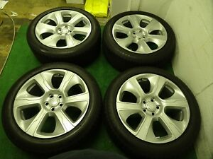 2018 Range Rover Oem Factory 21 Wheels Rims Autobiography Silver Only 29 Miles