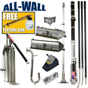 Drywall Master Full Set Taping Finishing Tools Free 199 Laco Texture Sprayer