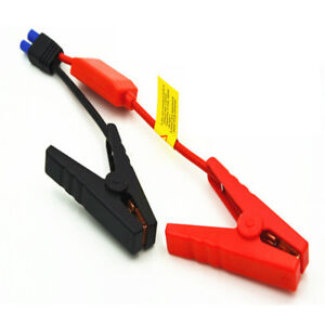 Ec5 Male Connector Car Jump Starter Emergency Lead Cable Alligator Clamp Clip