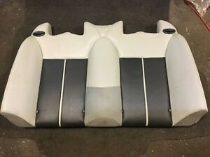 04 07 Saab 9 3 93 Convertible Upper Rear Seat Leather