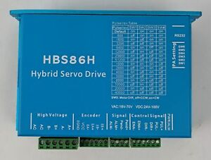 Hbs86h Hybrid Servo Drive Stepper Closed Loop