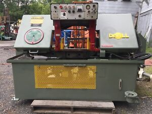 Doall Horizontal Band Saw With Long Table Model C 1216m