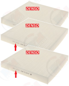 Denso Oem Cabin Air Filter 453 2026 pack Of 3 For Acura Honda