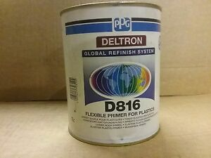 Ppg D816 Flexible Primer For Plastics 1 Litre Deltron
