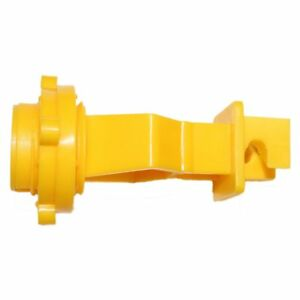 Electric Fence 1 T post Insulator Yellow 25 Pack
