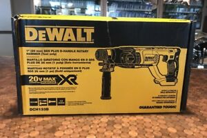 New Dewalt 1 Sds Plus D handle Rotary Hammer tool Only Dch133b