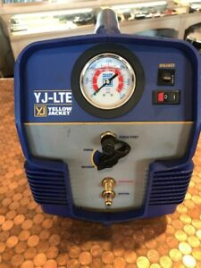 Yellow Jacket Yj lte 95730 Refrigerant Recovery Hvac System Freon Tool Unit