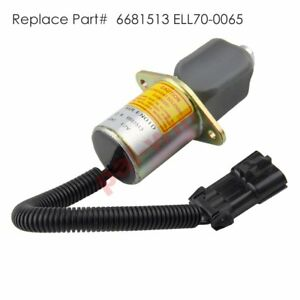 Premium Fuel Shut Off Solenoid For Bobcat Skid Steers 743 751 753 763 773 Us