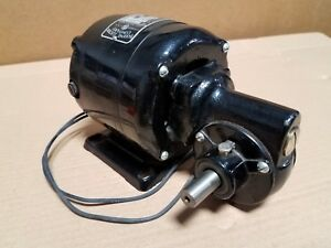 New Bodine Gear Motor Nse 33r 1 10 Hp 1 2 Shaft 20 1 Ratio
