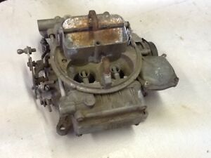 Core Holley Marine Carburetor 4160 Ford Tag