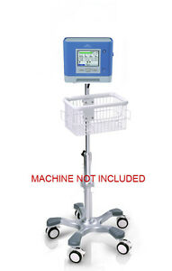 Roll Mobile Stand For Philips Repironics Trilogy 202 Monitor Big Wheel Usa