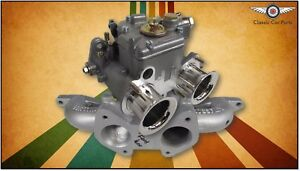 Ford Cortina 1600 X Flow Motor Fajs 40 Dcoe Weber Carburettor Sidedraft Kit