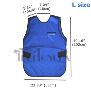 Large Size X ray Lead Free Radiation Protecting Aprons With Collar As The Gift