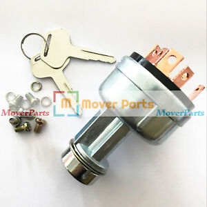 Ignition Switch For Komatsu Skid Steer Loader Ck20 1 Ck30 1 Ck35 1 Sk714 5