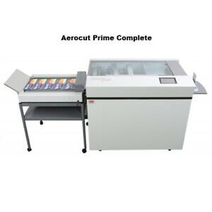 Mbm Aerocut Prime Complete Air Feed Paper Slitter cutter creaser perforator