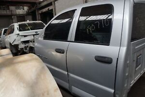 Rear Left Door Silver Ps2 55276119al Dodge Ram 1500 2500 3500 Srt10 2003 09