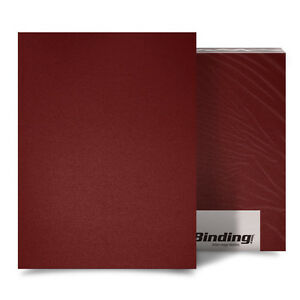 New Maroon 16mil Sand Poly 8 5 X 14 Binding Covers 25pk Free Shipping