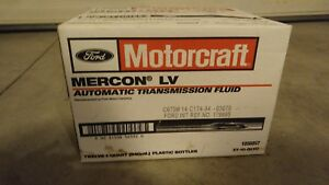 Ford Motorcraft Mercon Lv Automatic Transmission Fluid Case Xt 10 Qlvc 12 Quarts