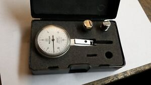 Mitutoyo No 513 242 Dial Test Indicator 0005 W Case
