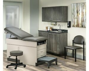 Complete Doctor Office Exam Room Table And Furnishings New