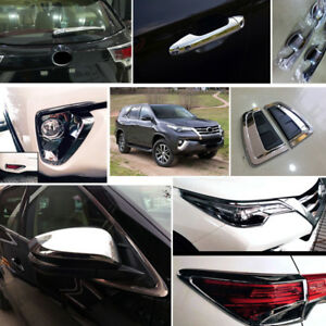 29 Car Exterior Accessories Whole Kit Trim For Toyota Fortuner An160 2016 2017