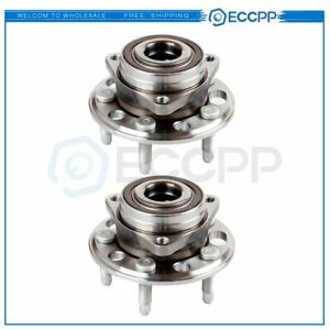2 X New Front And Rear Wheel Hub And Bearing Assembly Chevy Equinox Gmc Terrain