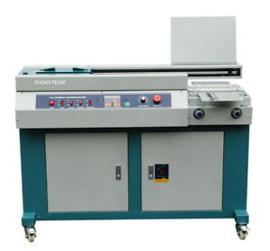 A4 Automatic Perfect Paper Binding Machine With Side Gluing unsewn Book Binder