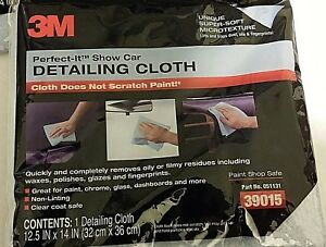 Lot Of 48 3m Perfect it Show Car Non linting Detailing Cloth 12 5 X 14