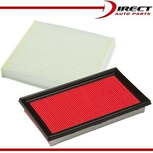 Combo Engine Air Filter Cabin Filter For Infiniti Q50 V6 3 7l 2014 2016