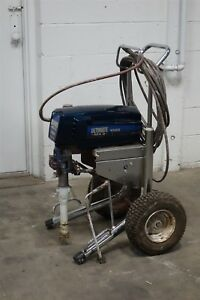 Used Graco Ultimate Mx Ii 1095 Airless Paint Sprayer