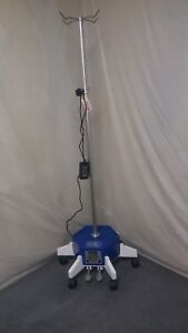 Omnimed Powerlifter 741314 I v Stand 5 Wheel Iv Pole Great Working And Cosmetic