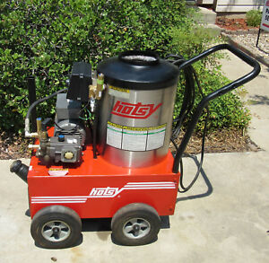 Used Hotsy 555ss Electric Hot Water Pressure Washer Sn 172612 1 109 033 0