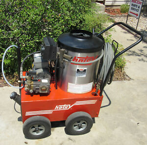 Used Hotsy 555ss Electric Hot Water Pressure Washer Sn h0402 66445 1 109 033 0
