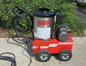 Used Hotsy 555ss Electric Hot Water Pressure Washer Sn 169759 1 109 033 0