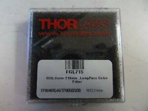 Thorlabs Fgl715 25 Mm Rg715 Colored Glass Filter 715 Nm Longpass