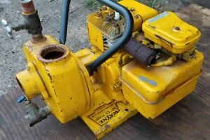 Great Running Wayne Water Pump Pcg35 3 Hp Briggs And Stratton Engine